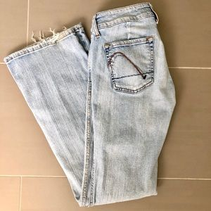"""Guess """"sweetheart flare"""" jeans"""